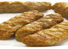 Savory Breakfast Sausage: note to self: food process the beans then the mushrooms bc mashing is impossible. Wet hands when rolling and make patties next time!
