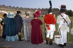 Apparently there is a Jane Austen festival in Bath. I must go.