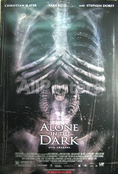 Alone In The Dark Movies Original Poster - 69 x 104 cm