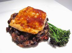 Robert Irvine Recipe for BBQ Salmon with Avocado Ice