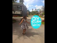 DIY: Scuba/Neoprene Skater Dress - YouTube