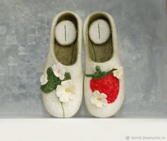 204394c55ce122 Felted Slippers Slippers