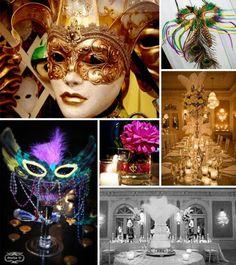 masquerade inspiration board