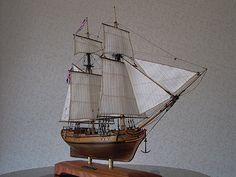 帆船模型 ハリファックス Halifax