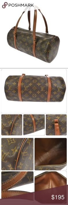 Louis Vuitton Papillon 30 Used and authentic. Shows minor wear. Clean canvas and interior. This is the 30 Bags