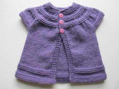 chaleco abrigo saco |lana| baby boutique -tejidos bebe niños
