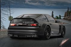 Honda Civic CRX Wide Body....I like this style