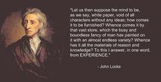 John Locke - The Tabula Rasa