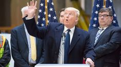 Donald Trump bewilderingly denies that climate change poses a serious risk