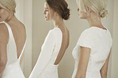 Charlotte Simpson backless wedding dress
