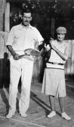 Gabrielle Chanel with Captain Jack Hillyard, 1930