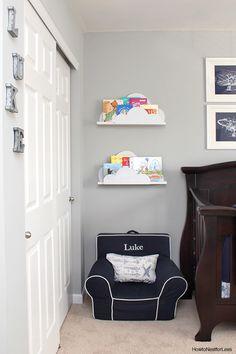 New Baby Diy Storage Bookshelves Ideas Diy Nursery Decor, Home Decor Bedroom, Diy Room Decor, Baby Decor, Bedroom Ideas, Nursery Furniture, Nursery Themes, Decor Crafts, Room Decor For Teen Girls