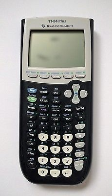 Texas Instruments TI-84 Plus Graphing Calculator WORKING