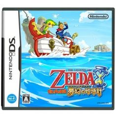 The Legend of Zelda: Phantom Hourglass (DS) (Nintendo DS-spel) Nintendo Ds, Nintendo Games, Wi Fi, Japanese Online, Study Japanese, English Games, Video Game Reviews, Wind Waker, The Legend Of Zelda