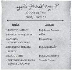 Agatha of Woods Beyond
