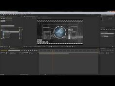 After Effects Hud Tutorial Part 1 - YouTube