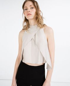 STUDIO TOP-View all-WOMAN-NEW IN | ZARA United States