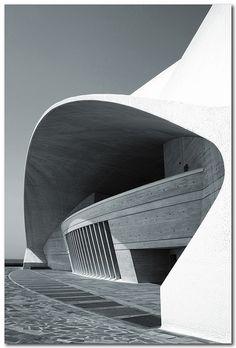 Detail Auditorio de Tenerife, Canary Island, Spain, by jmhdezhdez