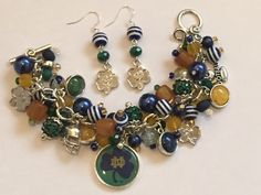 A personal favorite from my Etsy shop https://www.etsy.com/listing/560090645/notre-dame-charm-bracelet-chunky-cluster