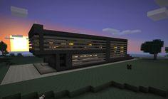 Minecraft Simple Modern House by poste744.deviantart.com on @deviantART