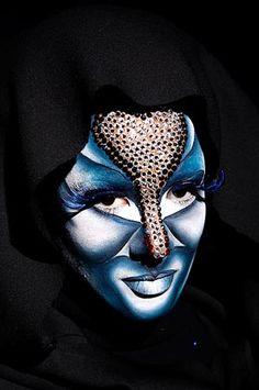 Maquillaje Fantasia - Escuela de maquillaje profesional Montserrat Fajardo