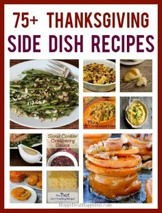 Look no further for your delicious feast!  #sidedish #thanksgivingrecipes