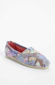 TOMS 'Classic - Faded Tropical' Slip-On (Women) available at #Nordstrom