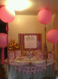 Juicy Couture Birthday Party