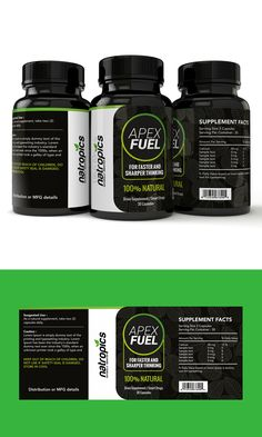 Contest - $50 Product Label Design For a Dietary Supplement - 72Hrs