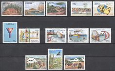 Stamps with Soccer, Organisations, Art, Cactus, Sailing, National Parc from Aruba, product #192808