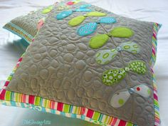 The Sewing Attic: New cushion designs......
