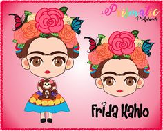 Frida Kahlo / Frida Kahlo Shirt / Frida / Frida Kahlo Print / Frida Kahlo Bag, Frida Kahlo Party / Frida Kahlo SVG / Frida Kahlo Digital by PrismaticProfusions on Etsy Painted Plant Pots, Painted Flower Pots, Frida Kahlo Party Decoration, Frida Kahlo Cartoon, Frida Kahlo Birthday, Teacher Ornaments, Frida Art, How To Make Tshirts, Cute Characters