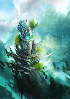 citadel by *sandara on deviantART