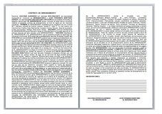 Modelo de contrato de arrendamiento de plaza de garaje formato pinterest contrato de - Contrato de arrendamiento de oficina ...