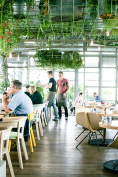 Neni Restaurant on the top floor of the 25 Hours Hotel Bikini in Berlin | Happy Interior Blog