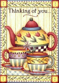çaylaaarrr Tea Pots, Vintage Kitchen, Kitchen Wall Art, Tea Pot