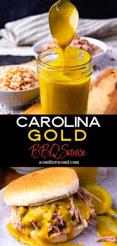 Tangy, peppery, and loaded with a punch of flavor, Carolina Gold BBQ Sauce will take anything you slather it on to a whole new level! With a beautiful golden color from mustard and a slight sweetness from brown sugar and honey, this sauce takes only 10 minutes to make. Carolina Gold BBQ Sauce is a classic and is deserving of the accolades it gets whenever served!