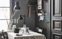 Ikea a demandé au décorateur d'intérieur Hans Blomquist de dessiner sa cuisine idéale, mélange subtil de rustique actuel et de modernité. Il nous présente celle qu'il a réalisé pour son appartement. P