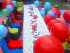 Ball themed party
