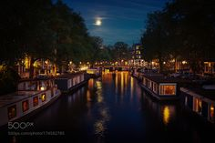 Houseboats Amsterdam. by remoscarfo