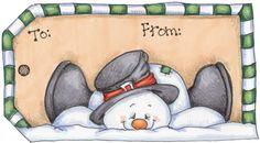 LÁMINAS - Santas Helper - Kekas Scrap - Picasa Web Albums Christmas Tags Printable, Christmas Clipart, Christmas Gift Tags, Snowman Crafts, Christmas Projects, Christmas Crafts, Christmas Drawing, Christmas Paintings, Christmas Rock