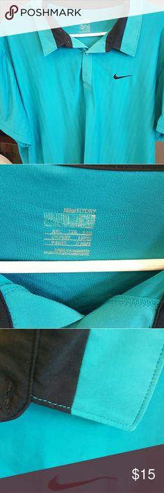 Nike dry fit collar shirt Nike dry fit collar shirt Nike Shirts Polos