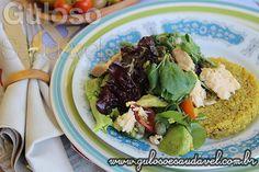 Receita de Salada de Agrião com Quinoa