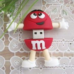Pen Drive in the shape of the Red M&M? Want to design one for your company?