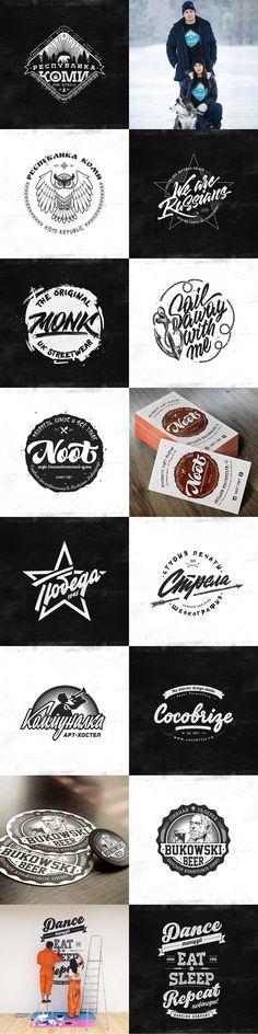 Лого, бэйджи, принты. 2015, Логотип © АлександрШиманов