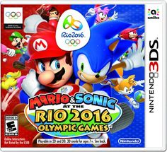 Mario & Sonic at the Rio 2016 Olympic Games - Nintendo 3DS - http://astore.amazon.com/gamesandvideogames-20