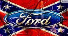 Ford. Rebel flag. Little bit of camo. Yuh buddy!<3