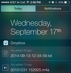 Comprehensive List of iOS 8 Apps with Notification Center Widgets - https://www.aivanet.com/2014/09/comprehensive-list-of-ios-8-apps-with-notification-center-widgets/
