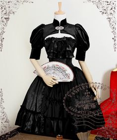 fanplusfriend - Ten O'Clock Cinderella, Rococo Lolita Gothic Fine Velvet Short Puffy Sleeves Shrug*2colors Instant Shipping, $68.00 (http://www.fanplusfriend.com/ten-oclock-cinderella-rococo-lolita-gothic-fine-velvet-short-puffy-sleeves-shrug-2colors-instant-shipping/)