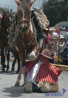 PASEO DEL CHAGRA SANGOLQUí-ECUADOR